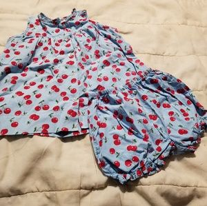 Gymboree Apple Dress/Bloomers